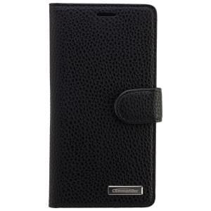 COMMANDER Premium Handytasche BOOK CASE ELITE für Huawei P8 - Black