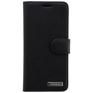 COMMANDER Premium Handytasche BOOK CASE ELITE für HTC Desire 626 - Black