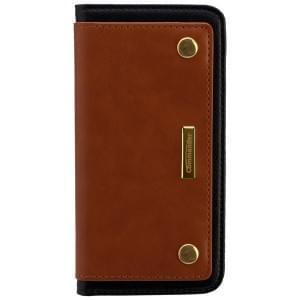 COMMANDER Premium Tasche Book Case COMBI für Apple iPhone 6 / 6S - Brown