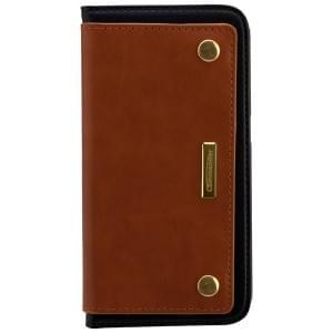 COMMANDER Premium Tasche Book Case COMBI für Samsung Galaxy S6 - Brown