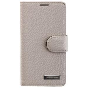 COMMANDER Premium Tasche BOOK CASE ELITE für Sony Xperia Z5 Compact - White