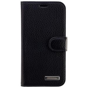 COMMANDER Premium Tasche BOOK CASE ELITE für Samsung Galaxy J5 - Black
