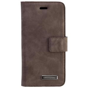 COMMANDER Book & Cover Handytasche für Apple iPhone 6S - Nubuk Gray