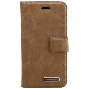 COMMANDER Book & Cover Handytasche für Apple iPhone 6S - Nubuk Beige