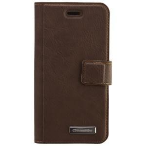 COMMANDER Premium Handytasche Book & Cover für Apple iPhone 6 / 6S - Vintage Brown