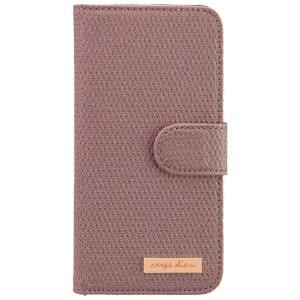 CARPE DIEM Tasche elegantes Book Case mit integriertem Spiegel für Apple iPhone 6 / 6S - Light Purple