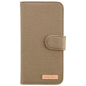 CARPE DIEM Tasche elegantes Book Case mit integriertem Spiegel für Samsung Galaxy S6 Edge - Gold