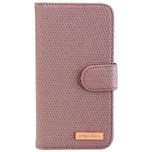 CARPE DIEM Tasche elegantes Book Case mit integriertem Spiegel für Samsung G925 Galaxy S6 Edge - Light Purple