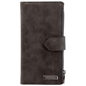 COMMANDER Premium Tasche BOOK CASE WALLET für Apple iPhone 6 / 6S - Vintage Gray