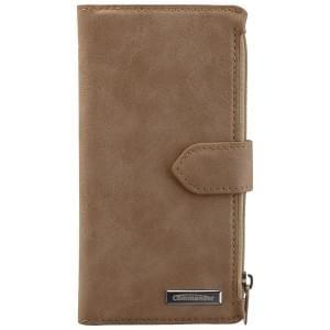 COMMANDER Premium Tasche BOOK CASE WALLET für Apple iPhone 6 / 6S - Vintage Beige