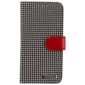 COMMANDER Premium Tasche BOOK CASE PEPITA für Samsung Galaxy S6