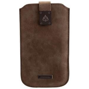 COMMANDER Premium Tasche MILANO XXL5.0 - Nubuk Gray