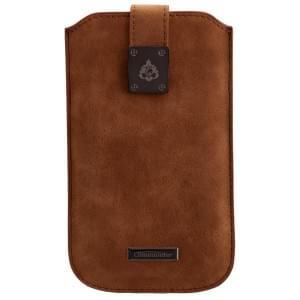COMMANDER Premium Tasche MILANO XXL5.0 - Nubuk Brown