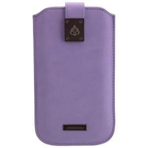 COMMANDER Premium Handytasche MILANO XXL5.0 - Fleure Violett