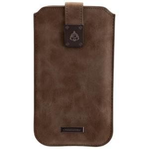 COMMANDER Premium Tasche MILANO XXL5.2 - Nubuk Gray