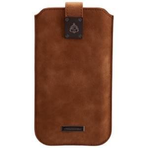 COMMANDER Premium Tasche MILANO XXL5.2 - Nubuk Brown