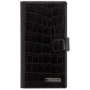 COMMANDER Premium Tasche Book & Cover für Sony Xperia Z5 Premium Croco Black