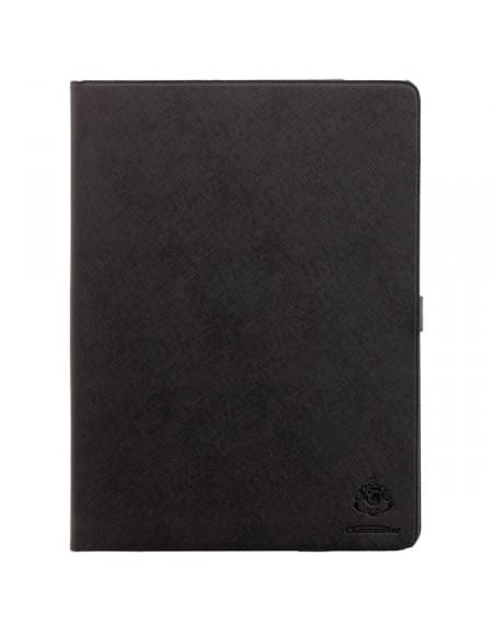 COMMANDER Premium Tasche BOOK CASE für Apple iPad Pro - Cross Black