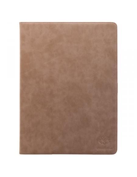 COMMANDER Premium Tasche BOOK CASE für Apple iPad Pro - Vintage Beige