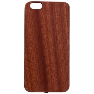 PETER JÄCKEL Qi Wireless Charger WOODY RECEIVER COVER für Apple iPhone 6 Plus / 6S Plus - Dark Brown