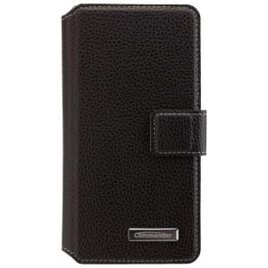 COMMANDER Premium Handytasche BOOK CASE ELITE für Samsung Galaxy A3 (2016) - Black