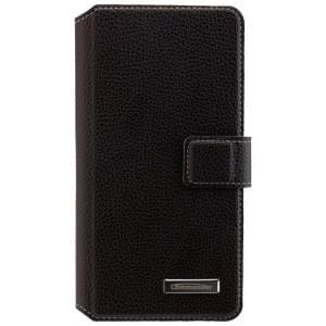 COMMANDER Premium Handytasche BOOK CASE ELITE für Samsung Galaxy A5 (2016) - Black