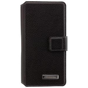 COMMANDER Premium Handytasche BOOK CASE ELITE für Microsoft Lumia 550 - Black