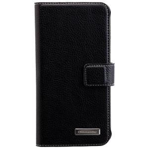 COMMANDER Premium Handytasche BOOK CASE ELITE für Samsung Galaxy S7 - Black