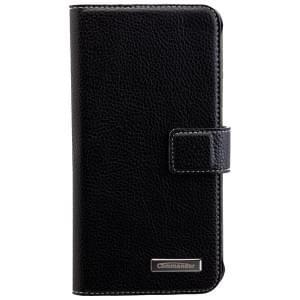 COMMANDER Handytasche BOOK CASE ELITE für Samsung Galaxy S7 Edge - Black