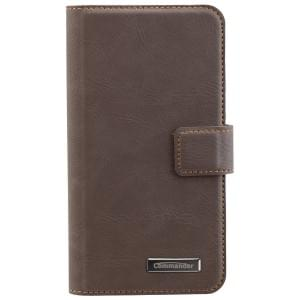COMMANDER Book & Cover 2in1 Handytasche für Samsung Galaxy S7 - Vintage Brown