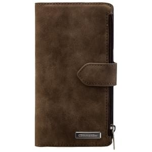 COMMANDER Premium Handytasche BOOK CASE WALLET für Samsung Galaxy S7 - Vintage Brown