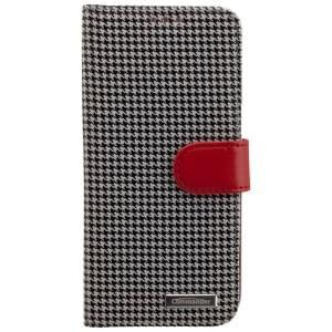 COMMANDER Premium Tasche BOOK CASE PEPITA für Samsung Galaxy S7 Edge