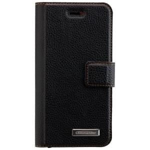 COMMANDER Book & Cover Handytasche für Apple iPhone 6 / 6S - Black