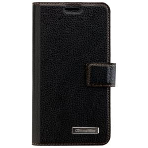 COMMANDER Book & Cover 2in1 Handytasche für Samsung Galaxy S5 - Black