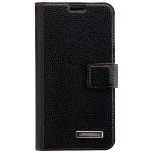 COMMANDER Book & Cover 2in1 Handytasche für Samsung Galaxy S6 - Black