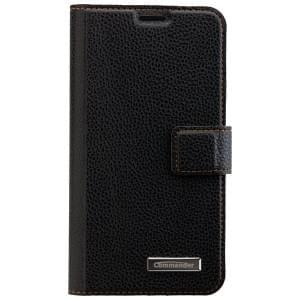 COMMANDER Book & Cover Handytasche für Samsung Galaxy S6 Edge - Black