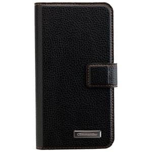 COMMANDER Book & Cover 2in1 Handytasche für Samsung Galaxy S7 - Black