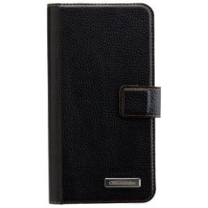 COMMANDER Book & Cover Handytasche für Samsung Galaxy S7 Edge - Black