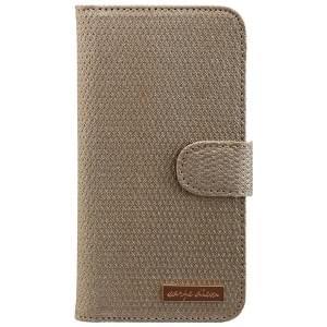 CARPE DIEM Tasche elegantes Book Case mit integriertem Spiegel für Samsung Galaxy S7 - Gold