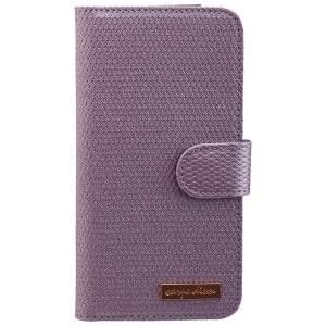 CARPE DIEM Tasche elegantes Book Case mit integriertem Spiegel für Samsung Galaxy S7 - Light Purple