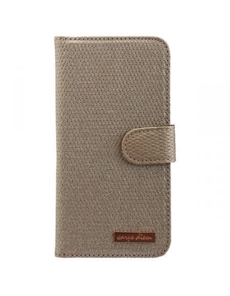 CARPE DIEM Tasche MIRROR CASE für Samsung Galaxy S7 Edge - Gold