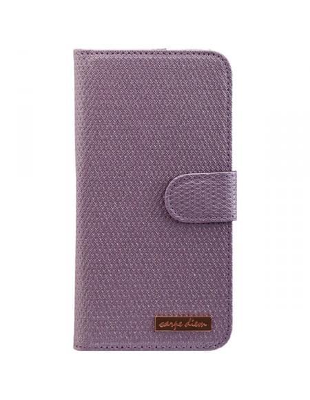 CARPE DIEM Tasche MIRROR CASE für Samsung Galaxy S7 Edge - Light Purple