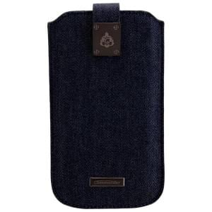 COMMANDER Premium Handytasche MILANO XXL5.7 Jeans für Samsung Galaxy S7 Edge / Apple iPhone 7 Plus
