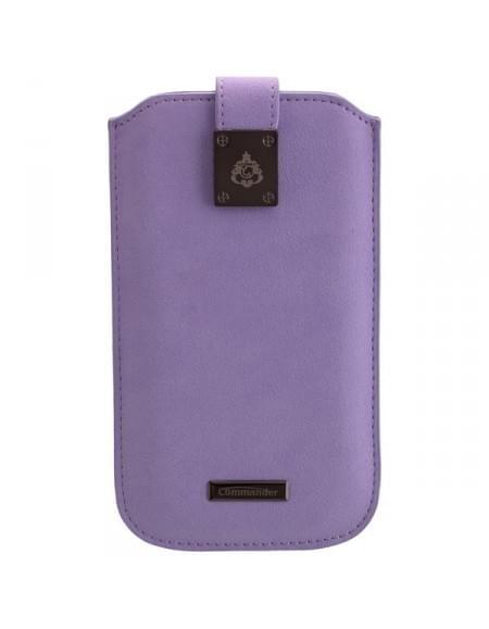 COMMANDER Tasche MILANO XXL5.7 Violet für Samsung Galaxy S7 Edge / Apple iPhone 7 Plus
