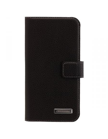 COMMANDER Premium Tasche BOOK CASE ELITE für LG G5 - Black
