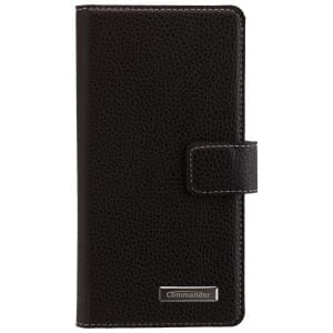 COMMANDER Premium Handytasche BOOK CASE ELITE für Sony Xperia X - Black