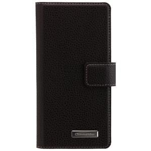 COMMANDER Premium Handytasche BOOK CASE ELITE für Sony Xperia XA - Black