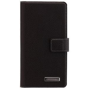 COMMANDER Premium Handytasche BOOK CASE ELITE für Huawei P9 Lite - Black