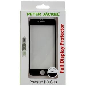 PETER JÄCKEL FULL DISPLAY HD Glass SUPERB für Apple iPhone 6 / 6S - Black