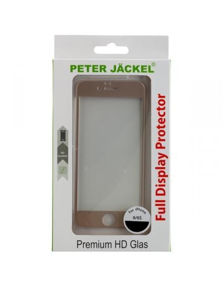 PETER JÄCKEL FULL DISPLAY HD Glass SUPERB für Apple iPhone 6 / 6S - Gold